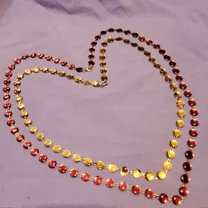 Cool Costume Jewelry Necklace Pair